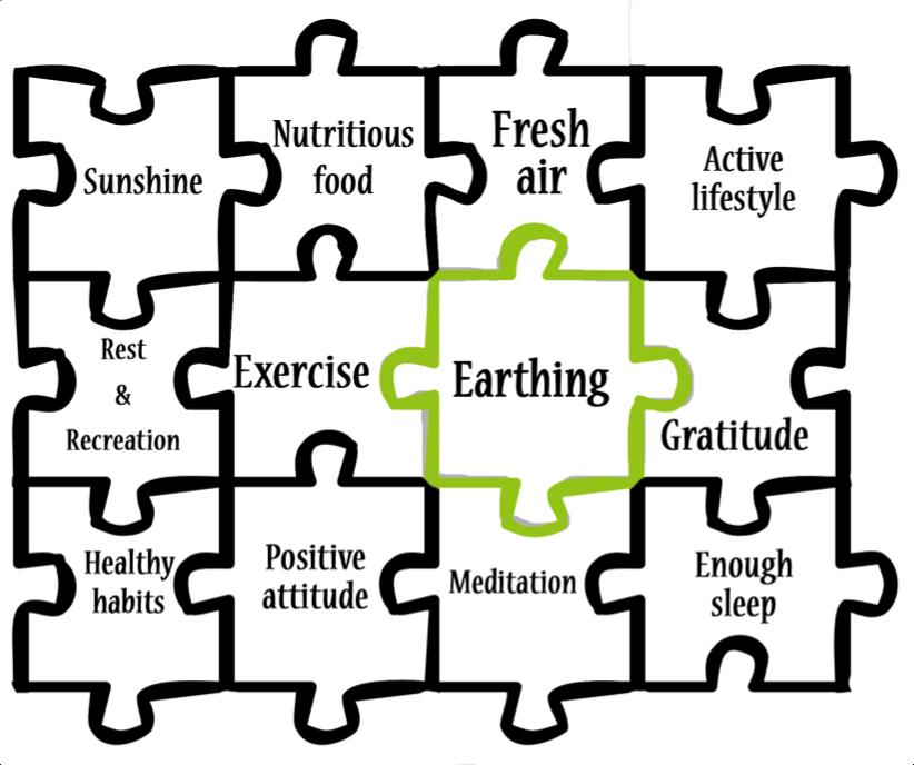 earhting for health