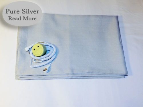 Better Earthing Pillow case with Pure Silver