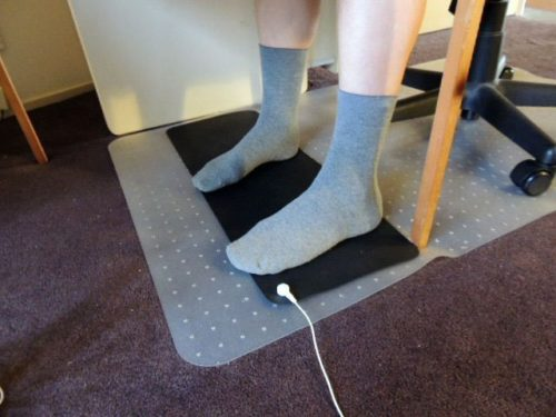 Better Earthing mat under the desk