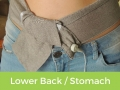Earthing Wrap for Lower Back Pain or Stomach Pain
