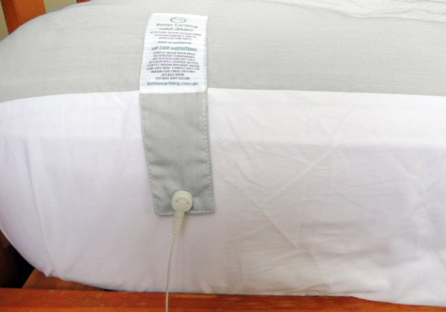 Silver Slumber Earthing Sleep System Side View