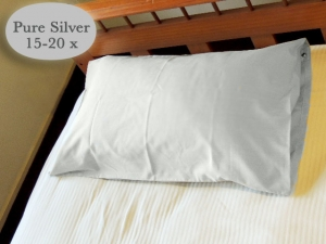 Better Earthing Pillowcase with 15-20x More Silver