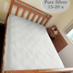Silver Slumber Earthing Sleep System Bed View