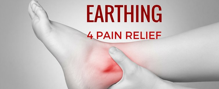 Earthing for Pain Relief - Injured Ankle