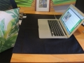 Better Earthing Pad Black on Desk