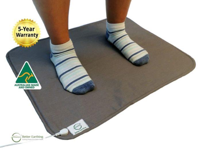 earthing grounding mat with feet