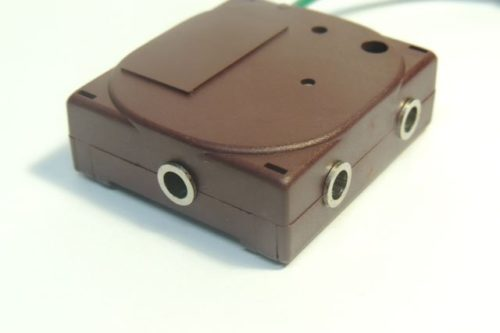 Close up of 4-way Splitter Box for Earthing