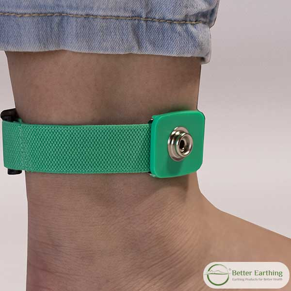 earthing band, earthing ankle band. grounding band