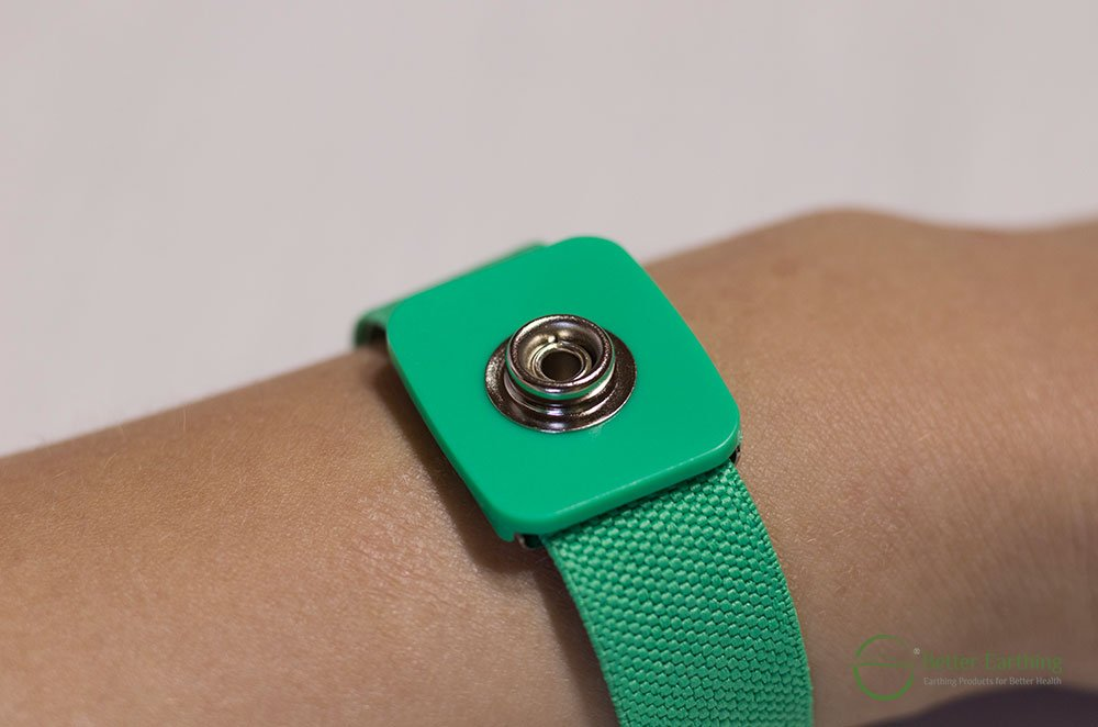 Earthing Wristband Front View