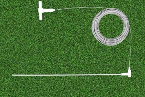 grounding rod with splitter