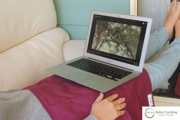 Laptop Relaxation with a Better Earthing Pad