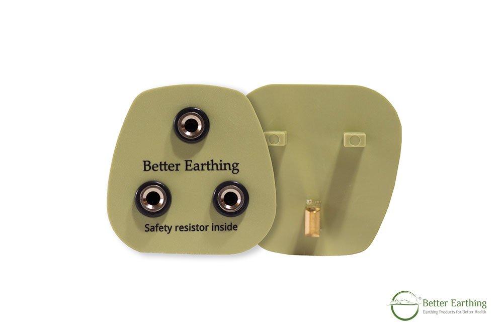 UK or Hong Kong earthing adapter