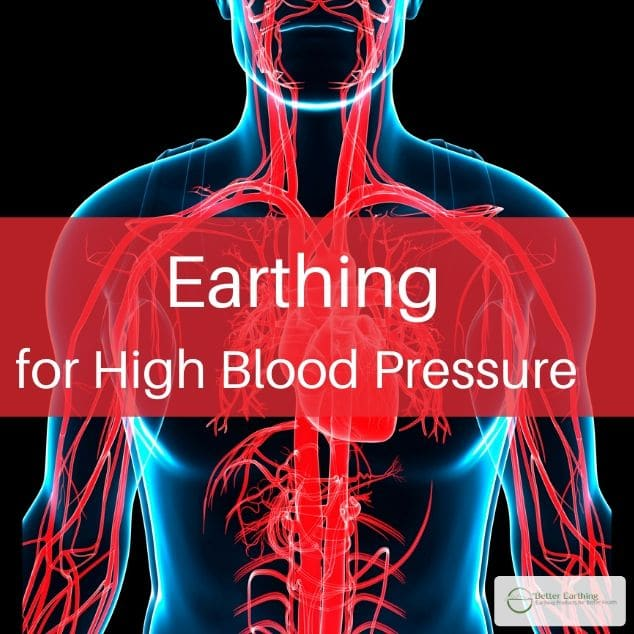 earthing high blood pressure