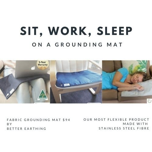versatile fabric grounding mat
