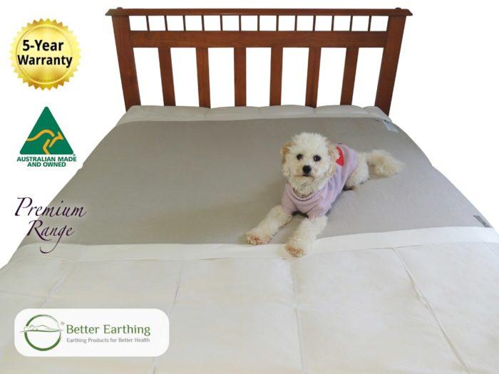 grounding half sheet underlay fits all beds